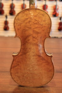 Birdseye Maple Violin Made in Germany c.1890